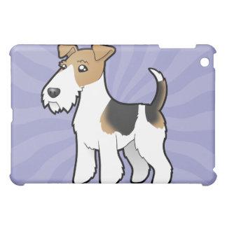 漫画ワイヤーフォックステリア犬 iPad MINIケース