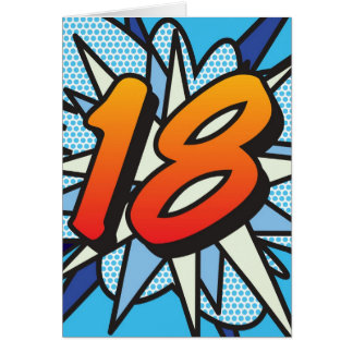 漫画本18の青 カード