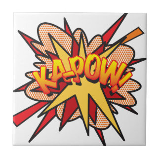 漫画本KA-POW! 正方形タイル小