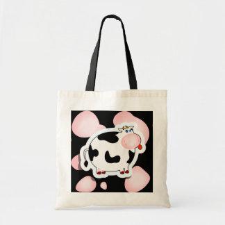 漫画牛、バッグ トートバッグ