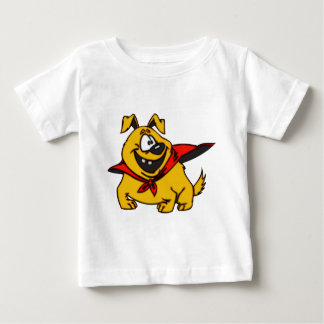 漫画犬の英雄 ベビーTシャツ