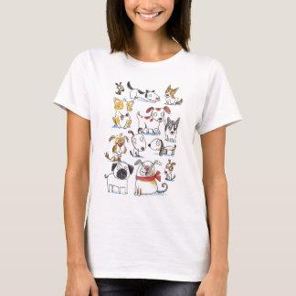 漫画犬 Tシャツ