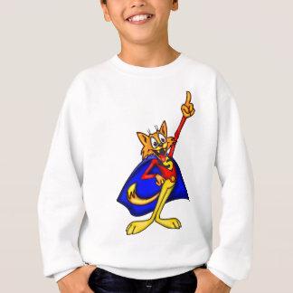 漫画猫の英雄 スウェットシャツ