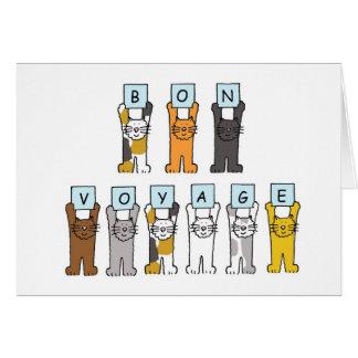 漫画猫の餞別 カード