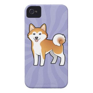 漫画秋田Inu/柴犬 Case-Mate iPhone 4 ケース