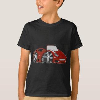 漫画赤い車の芸術 Tシャツ
