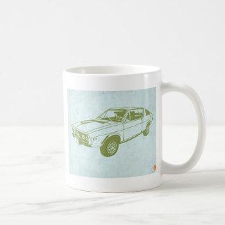 漫画車2 コーヒーマグカップ