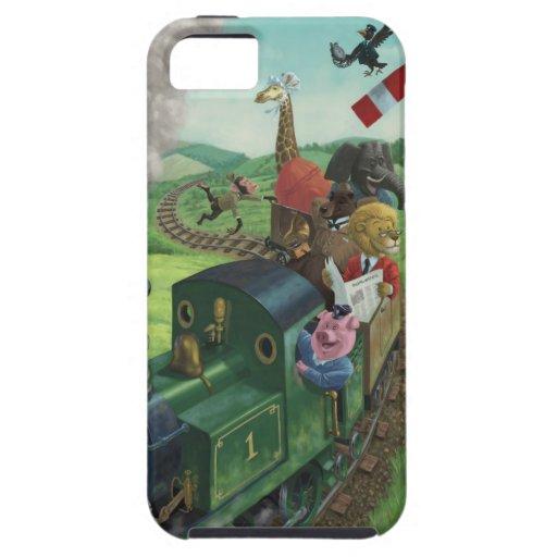 漫画|動物|楽しむこと|列車|旅行 iPhone 5 COVER
