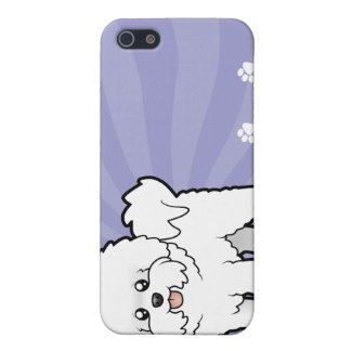 漫画Bichon Frise iPhone 5 Case