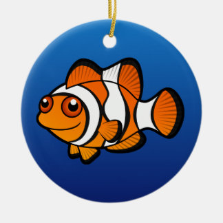漫画Clownfish セラミックオーナメント