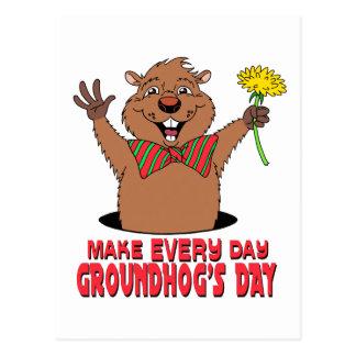 漫画Groundhog ポストカード