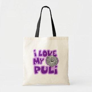漫画I愛私の白いPuli トートバッグ