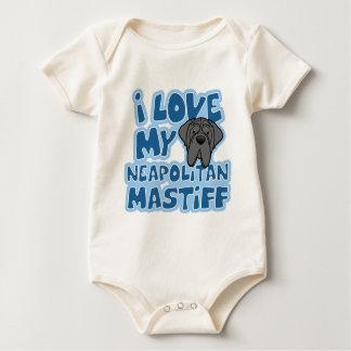 漫画I愛私のNeapolitanマスティフの乳児Creepe ベビーボディスーツ