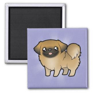漫画Pekeingese (切られる子犬) マグネット