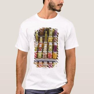 漬物の果物と野菜の表示 Tシャツ