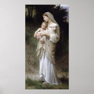 潔白(1893年) ポスター