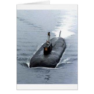 潜水艦 カード