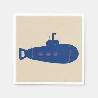 潜水艦 スタンダードカクテルナプキン