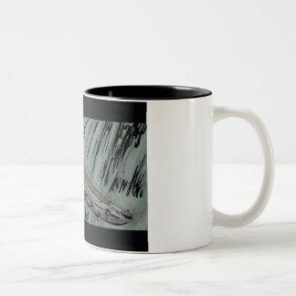 潜水艦 ツートーンマグカップ
