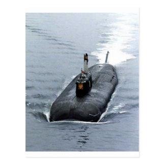 潜水艦 ポストカード
