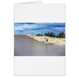 潮津波7の幽霊をサーフする川 カード