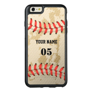澄んでクールなヴィンテージの野球 オッターボックスiPhone 6/6S PLUSケース