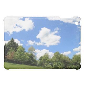 澄んで青い日の春の景色 iPad MINI カバー