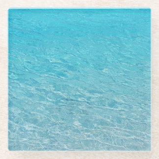 澄んで青い海 ガラスコースター
