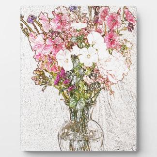 澄んなつぼのコレクションの花束 フォトプラーク