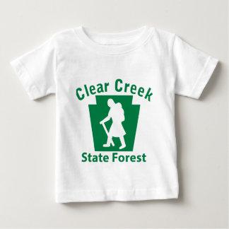 澄んな入り江SFのハイキング(女性) ベビーTシャツ
