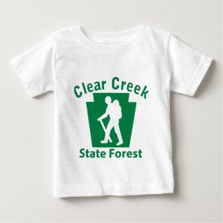 澄んな入り江SFのハイキング(男性) ベビーTシャツ