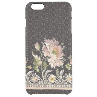 澄んな場合と刺繍のiPhone 6/6S クリア iPhone 6 Plusケース