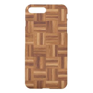 澄んな場合と寄木細工の床iPhone7 iPhone 8 Plus/7 Plus ケース