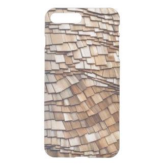 澄んな場合と曲げられたヒマラヤスギiPhone7 iPhone 8 Plus/7 Plus ケース