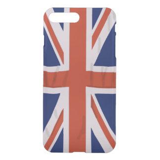 澄んな場合と英国の旗iPhone7 iPhone 8 Plus/7 Plus ケース