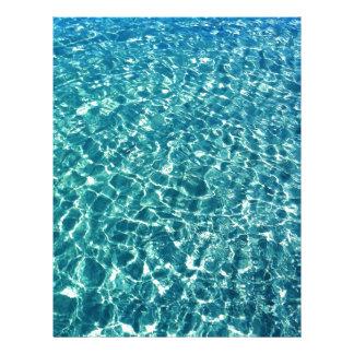 澄んな水青 レターヘッド