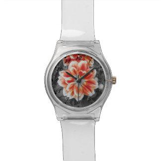 激しいダリア 腕時計