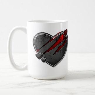 激しいハートのマグ コーヒーマグカップ