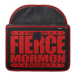 激しいモルモン教徒-大胆不敵な近代の聖者のメンバー MacBook PROスリーブ