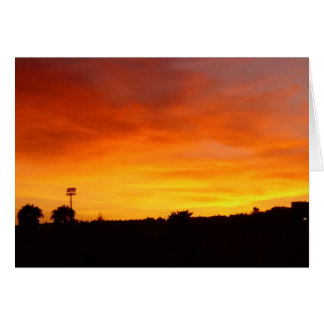 激しい日没 カード