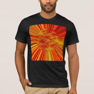 激しい毛皮の球 Tシャツ
