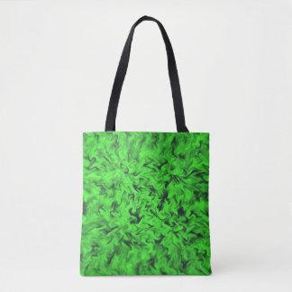 激しい緑 トートバッグ