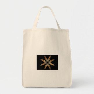 激しいStarbustのフラクタルの芸術 トートバッグ