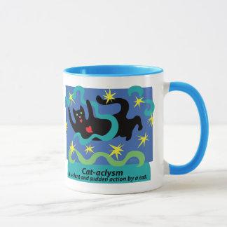 激変のコップ マグカップ
