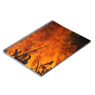 激怒する火 ノートブック