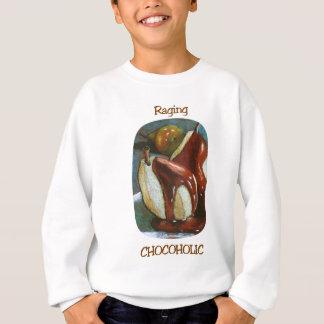 激怒するCHOCOHOLIC スウェットシャツ