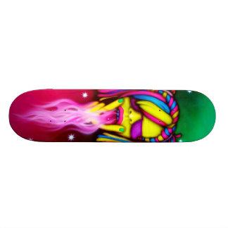 激賞の女の子-スケートのデッキ スケートボード