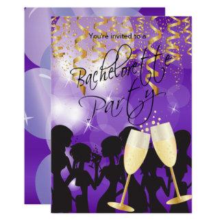 濃紫色のバチェロレッテ カード