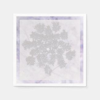 濃紫色のライラック スタンダードカクテルナプキン