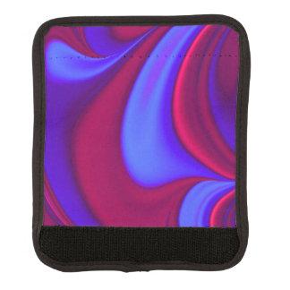 濃紫色の渦巻 ラゲッジ ハンドルラップ